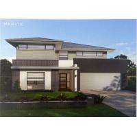 Quality Good Looking / Living Comfortable Prefab Villa Light Steel Structure Prefab Homes for sale