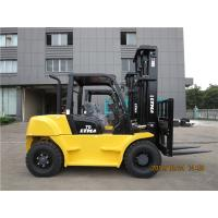 LTMG forklift 7t diesel forklift with three stage mast 4.8m lifting height