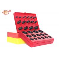 Buy cheap Durable O Ring Kit Box - G AS568 Standard 30 Dimensions 382 Pieces NBR 70 Black product