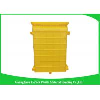 Buy cheap Standard Size Warehouse Storage Bins Spare Parts Storage Easy Stacking PE Material product