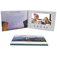 Buy cheap Promo Advertising A5 7'' Digital Catalogue Card Lcd Screen Video Greeting Brochure For Wedding Invitation product
