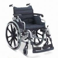 Buy cheap Wheelchair with Aluminum Chair Frame, Flip-up and Height-adjusted Desk Armrest, from wholesalers