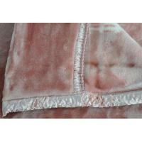Buy cheap 100% Acrylic Soft Antistatic Blanket With Pink Double Printed product