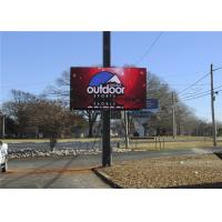 Buy cheap 7500CD Outdoor P10 / P8 / P6 Front Service LED Display 10000 Dots/Sqm Pixel product