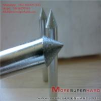 Quality Carbide processing by electroplating diamond grinding head Alisa@moresuperhard for sale