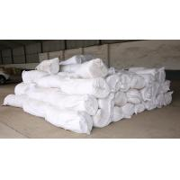 China 1260℃ High Temp Ceramic Blanket , Ceramic Fireproof Blanket Pure White For Heating Devices on sale