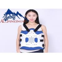 Buy cheap Adjustable Lumbar Support Brace Plastic Thoracolumbar Fixation Support product