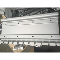 Buy cheap Silver Color Industrial Aluminum Profiles With CNC Drilling product