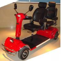 Buy cheap Two-Seat Heavy-Duty Larger Powerful Mobility Scooter (QX-04-10A) product
