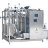 Buy cheap High Heat Treatment SUS 304 Plate Milk Sterilizer Machine / Milk Pasteurization from wholesalers