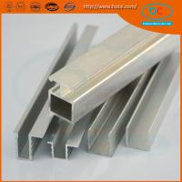 Buy cheap High quality  CP brush aluminum window profile, Matt aluminum window section, window profile product
