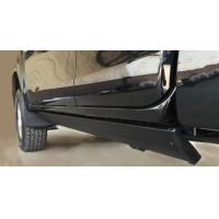 Quality Toyota Hilux Vigo Electric Side Steps Black Auto Truck Running Boards For