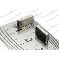 Quality Customized Permanent Magnet High Power Block NdFeB Magnet 10 * 5 * 2 mm For Instruments for sale