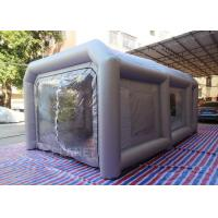 Buy cheap Portable Waterproof Inflatable Car Paint Spray Booth With Cotton Filter product