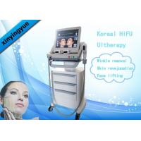 Buy cheap Koreal HIFU Machine 4.5mm Action Depth 3 Heads For Facial Wrinkle Remover product