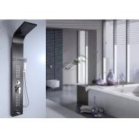 Buy cheap Polished Black Painting Shower Panel System 0.8mm Thick SS Body Frame ROVATE product
