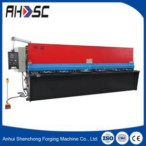 Buy cheap QC11Y 6*2500 guillotine style true-cut mechanical shearing machine/cutting machine product