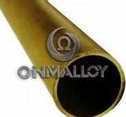 Quality ASTM Standard C72900 Copper Based Alloys Brass Tube / Pipe For Water Heater for sale