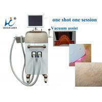 Buy cheap High Speed Vacuum Assisted Diode Laser Treatment For Hair Removal , Small Size from wholesalers