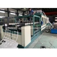 Buy cheap Automatic PS foam Disabled food container vacuum forming machine product