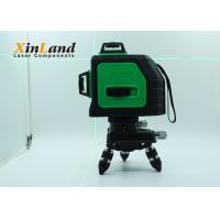 Buy cheap 12 Lines 3D Green Laser Level Meter , 360 Degree Ip54 Multiple Protection product