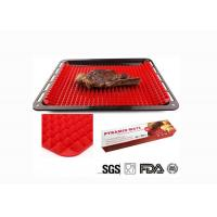 Buy cheap Thickened Pyramid Oven Mat , Silicone Pyramid Baking Mat OEM / ODM Available from wholesalers
