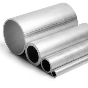 Buy cheap 6063/6061 Seamless Aluminium Tube , Customized Aluminum Alloy Tubing product
