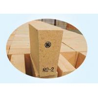 Buy cheap 55% Al2O3 Wedge Shaped High Alumina Fire Bricks For Reverberatory Furnace product