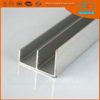 Buy cheap Indian hot sell ss  brush aluminum window profile, Matt aluminum window section, window profile product