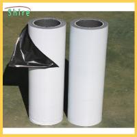 Buy cheap Low Adhesion Black&white Protective Film For Mirror Polished Stainless Steel Sheet product