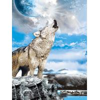Quality BSCI Lenticular 3D Pictures For Hotel Decoration / 3D Animals Photos for sale