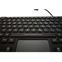 Buy cheap Customs military app keyboard with red backlight and M4 vesa mounting holes for vehicle product