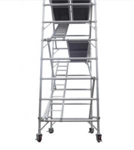 Buy cheap High Strength Portable Aluminum Scaffold Platform Customized Floor product