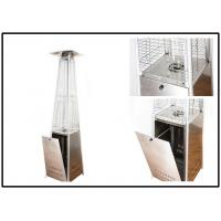Buy cheap Anti Tip Portable Square Patio Heater With Wheels Propane Butane Fuel Type product