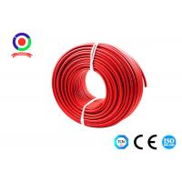 Buy cheap UV Resistance 16mm2 Single Core Solar Cable 9.2mm OD Dual Insulated product