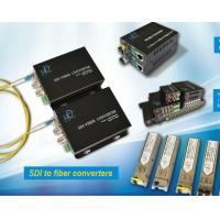 Buy cheap HD/3G SDI Fiber Converter RS485 data to fiber HD video optical converter from wholesalers