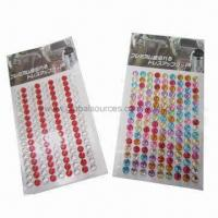 Buy cheap Crystal stickers for car decoration, OEM designs are welcome product