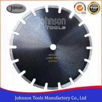 """Buy cheap 12""""-24"""" Smooth Cutting Asphalt Saw Blades With Drop Protection Segment product"""