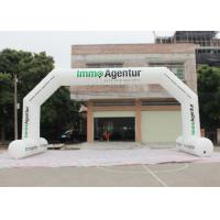 Buy cheap Outdoor Event Entrance Arch  / Advertising Finish Line Blow Up Arch product