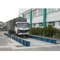 Simple Structure Load Scales For Trucks , 80 Ton Weighbridge U Steel Scale Body