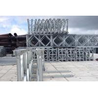 Buy cheap Hot Dip Galvanized Deck Truss Bridge , Lower Cost Temporary Steel Bridge product
