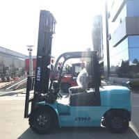 Buy cheap Isuzu Engine Diesel Forklift Truck With  High Technical Transmission Components product