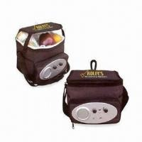 Buy cheap Cooler Bag with Radio,Customized Designs and Aluminum/PVC Insulation product