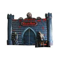 Buy cheap Super thirlling inflatable thrilling escape room for rental, awesome haunted from wholesalers