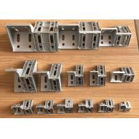 Buy cheap 90 Degree Corner Connector Custom Aluminum Extrusions Die Cast Brace Joint Angle Bracket product