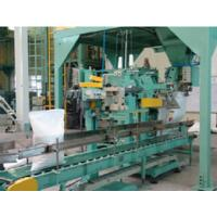 Double nozzle valve bag packaging machine