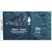 Buy cheap Adult Thigh Non Invasive Blood Pressure Cuff 42 - 54cm Size 20cm Tube Length from wholesalers