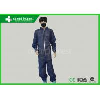 Buy cheap PP Nonwoven Disposable Protective Coverall Work Protective Clothing Basic Style product