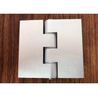 Buy cheap 180 Degree Aluminium Industrial Profile Silver Anodizzed Hinge Door Accessories product