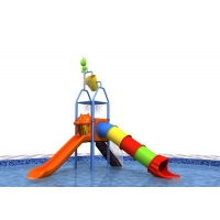 Buy cheap 10 Kids Amusement 60mm Outdoor Water Playground product